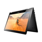 "Lenovo® Flex 3-1580 80R4000YUS 15.6"" 2-in-1 Notebook, LED, Intel Core i7-6500U, 256GB SSD, 8GB, Windows 10, Black"