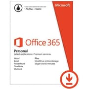 Microsoft Office 365 Personal Software, 1 User, Android/Mac/PC, Download (QQ2-00021)