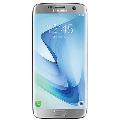 Samsung Galaxy S7 edge Unlocked Smartphone, 32GB, Silver Titanium (SM-G935)