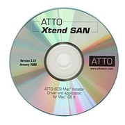 ATTO Xtend SAN iSCSI Initiator Software, 1 User, Mac OS, Download (INIT-MAC0-001)