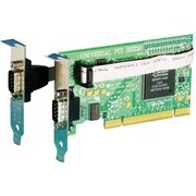 Brainboxes UC-101-001 2-Port Universal PCI Serial Adapter