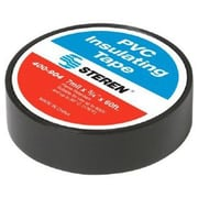 STEREN® Non-UL PVC Electrical Tape, 60' (400-904BK-10)