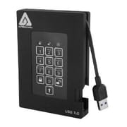 Apricorn Aegis Padlock Fortress A25-3PL256-S4000F 4TB Portable USB 3.0 External Solid State Drive (A25-3PL256-S4000F)