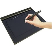 Adesso® Slim Graphic Tablet, Black (CYBERTABLET T10)