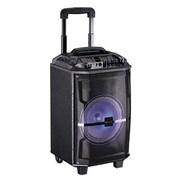Supersonic® IQ Sound® IQ-5208DJBT Bluetooth Professional Speaker with Disco Light, Black
