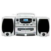 Supersonic® IQ Sound® SC-2020U Portable Audio System, Silver