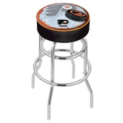 Holland Bar Stool NHL 30'' Swivel Bar Stool; Philadelphia Flyers- Black