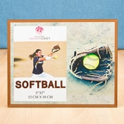 FashionCraft Stunning Softball Themed Gift Picture Frame