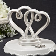 FashionCraft Interlocking Hearts Centerpiece and Cake Topper from Fashioncraft