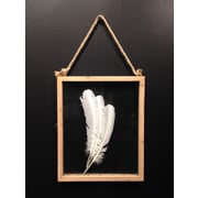 Wilco Home Picture It Wood Framed Hinged Glass Picture Frame