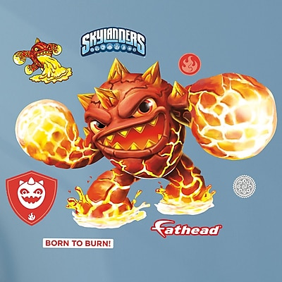 Fathead Skylanders Activision - Eruptor Junior Peel and Stick Wall Decal WYF078278047790