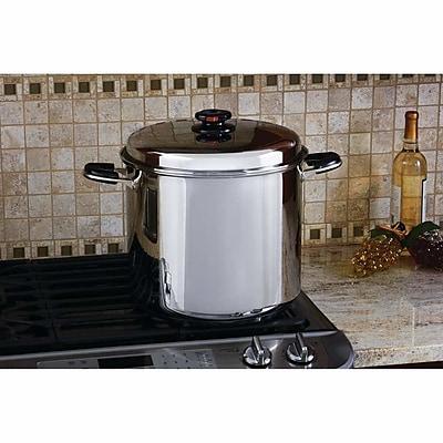 Chef's Secret Precise Heat 24 Quart Stock Pot w/ Lid WYF078278097312