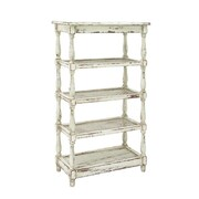 Cole & Grey Wood/Metal 55'' Etagere Bookcase