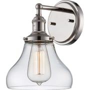 Wildon Home   Carl 1-Light Bath Sconce; Polished Nickel