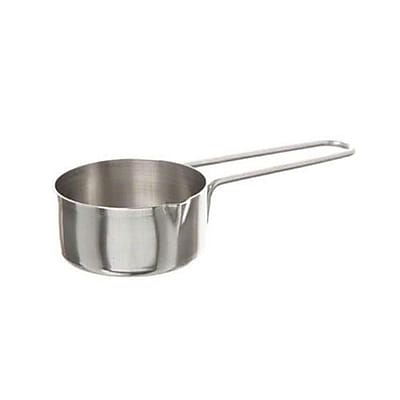 American Metalcraft 1/4 Cup Measuring Cup, Stainless Steel (MCW14) 2473675