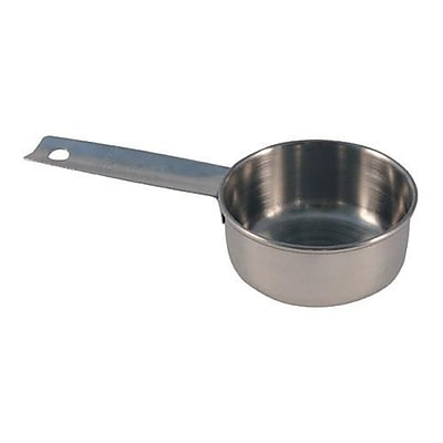 Tablecraft 1/4 Cup Measuring Cup, Stainless Steel (724A) 2473685