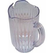 Winco 12 Oz Glass Sugar Pourer w/Top (WPCT-60C)