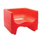"Cambro Red Booster Seat, 12 7/16"" L x 9 3/8"" W x 12 1/4"" H, Red, 4/Pack (200BC158)"