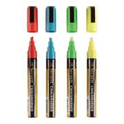 American Metalcraft Small Tip Assorted Chalk Markers (SMA510V4)