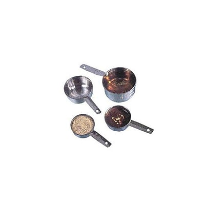 American Metalcraft Measuring Cup Set, Stainless Steel (MCL4) 2475122