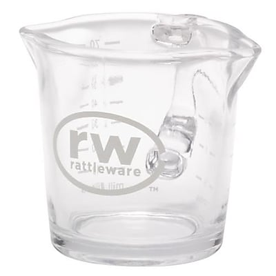 Rattleware 3 Oz. Glass Spouted Pitcher (27610) 2475146