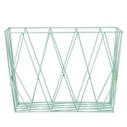 Bloomingville Metal Storage Basket; Mint