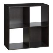OneSpace 24'' Cube Unit Bookcase; Espresso