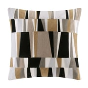 Ink + Ivy Lars Embroidered Throw Pillow; Natural