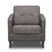 S2G Franklin Arm Chair; Charcoal
