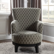 NathanielHome London Swivel Arm Chair