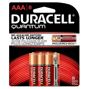 Duracell® – Piles alcalines AAA Quantum, paq./8