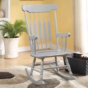 Wildon Home   Rocking Chair; Grey