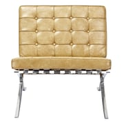 NyeKoncept Mies Side Chair; Aged Maple