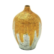 Cole & Grey Lacquer Bamboo Vase