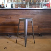 Buffalo Tools 30'' Bar Stool; Gun Metal