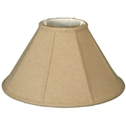 RoyalDesigns Timeless 16'' Linen Empire Lamp Shade; Cream