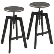 !nspire Adjustable Height Bar Stool (Set of 2)