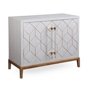 Bassett Mirror Thoroughly Modern Perrine Hospitality Cabinet