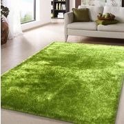 Rug Factory Plus Amore Hand-Tufted Lime Green Area Rug