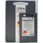 Linden Sweden 2 Piece Cutting Board Set; Gray