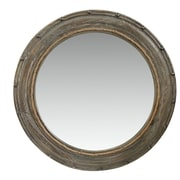 Woodland Imports Wooden Frame Mirror