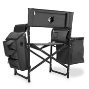Picnic Time Fusion Chair; Minnesota Timberwolves/Grey-Black