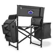 Picnic Time Fusion Chair; Sacramento Kings/Grey-Black