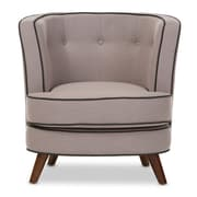 Wholesale Interiors Baxton Studio Michele Upholstered Club Chair
