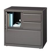 Hirsh Industries Personal 1 Door Storage Cabinet; Medium Tone