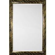 Mirror Image Home Mirror Style 81135 - Gold Black Wash Tadpole; 34.5 x 44.5
