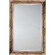 Mirror Image Home Mirror Style 81137 - Silver Tadpole; 34.5 x 44.5
