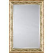 Mirror Image Home Mirror Style 81154 - Gold Wave; 27.25 x 31.25
