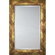 Mirror Image Home Mirror Style 81159 - Bronze Bullnose; 36.75 x 46.75