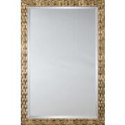 Mirror Image Home Mirror Style 81162 - Antique Silver Mayan Link; 27.25 x 39.25